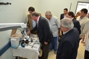 Autoridades de Salud Pública formalizaron la entrega del nuevo equipamiento para el Servicio de ORL, del Hospital Giordano, de Albardón