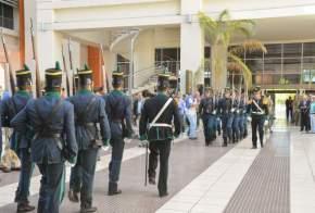 Relevamiento de Guardia de Honor de la Bancera Ciudadana