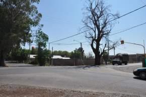 Semáforos en Calle 5 y General Acha