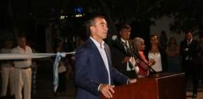 El intendente Martín se dirige a los presentes