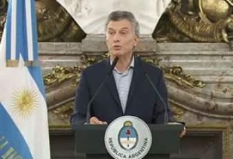 conferencia de prensa de Macri