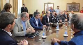 Firma de Contrato para la remodelación de Avenida José Ignacio de la Roza