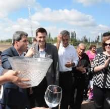 Inauguración de red de agua potable en Cochagual