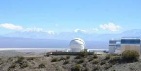 """Zona del Observatorio Astronómico """"Dr. Carlos U. Cesco"""", en la localidad de Barreal, Calingasta"""