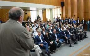 Expone el secretario de Ambiente y Desarrollo Sustentable, Raúl Tello