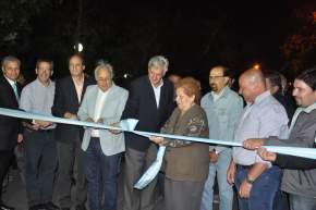 Participó de los actos junto al intendente Gioja, el vicegobernador Marcelo Lima