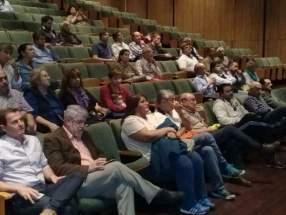 Presentes en el Auditorio Eloy Camus, del Centro Cívico
