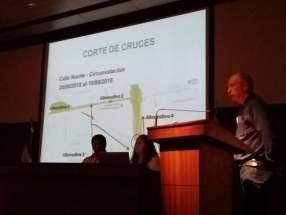 Presentaron planificación de obras de Ampliación de la Av. José Ig. de la Roza