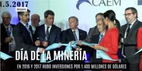 Acto de apertura de la mega feria ARMINERA 2017