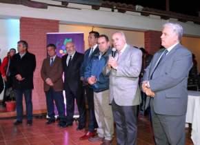 El vicegobernador Marcelo Lima encabezó la delegación sanjuanina que participó en Chile del Foro Mundial Cooperativo Vitivinícola