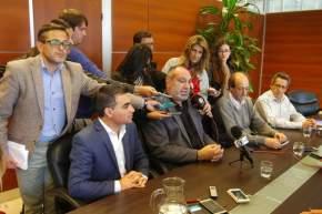 Ortíz Andino dió detalles sobre el tendido de la Línea Eléctrica de Alta Tensión