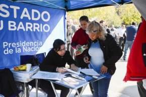El operativo de desarrollo territorial El Estado en tu Barrio depende del gobierno nacional