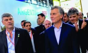 Pabellón de la Argentina en la feria de alimentos SIAL