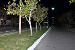 Obra de iluminación en Villa América