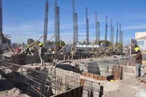 """Avanza la obra de construcción del Centro Deportivo y Cultural """"La Superiora"""""""
