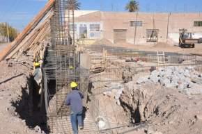 La construcción del Complejo tiene un costo de alrededor de 60 millones de pesos