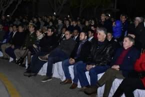 """Acto de imposición de nombre """"Plaza del Veterano y Héroes Sanjuaninos caídos en Malvinas"""" del Barrio FUVA"""