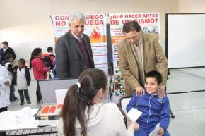 Operativos escolares en Albardón