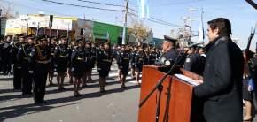 Ministro de Gobierno toma juramento a cadetes de la Tecnicatura en Seguridad Ciudadana de la Policía de San Juan y del Servicio Penitenciario Provincial