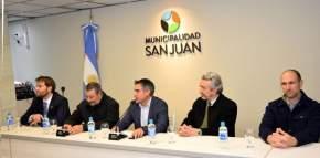 Firma de convenio entre Municipalidad de la Ciudad de San Juan y la UNSJ