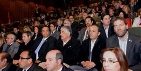 Asistieron legisladores, intendentes, funcionarios de distintos poderes del Estado