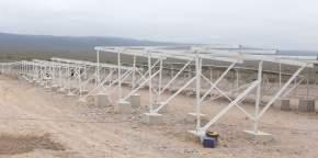 Visita del gobernador Uñac a la Planta Fotovoltaica Solar I, en Ullúm