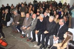 Autoridades presentes en la inauguración de CONIN en San Juan