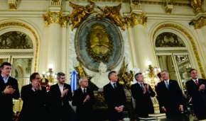 El Presidente tomó juramento a los nuevos ministros de Educación y de Defensa