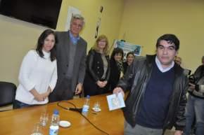 Convenio para el desarrollo del II Concurso Provincial Literario