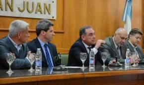 El ministro de Salud, Castor Sánchez Hidalgo dió detalles de la obra hospitalaria