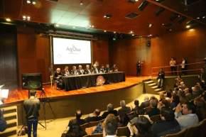 Acto de apertura del ARGOLIVA 2017 en salón auditorio del MPBA
