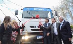 Nuevos camiones incorpora la comuna de Albardón