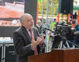 Dirige la palabra el secretario de Estado de Ambiente y Desarrollo Sustentable, D. Raúl Tello