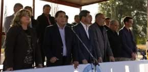 Dirigió la palabra el intendente Juan Carlos Abarca