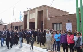 Inauguración del edificio del Juzgado de Paz de Angaco
