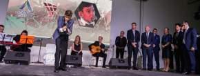 El joven español Martin Vega en la inauguración de la Cumbre del Deporte Argentino y el Foro Entrenando Valores