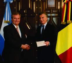 Macri recibió las cartas credenciales de siete embajadores