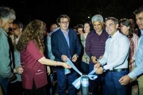 Nuevo alumbrado público en zona de Villa Del Carril