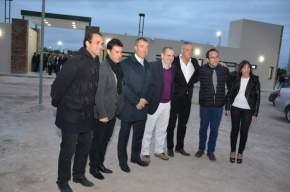 Inauguración del Polideportivo Municipal de Rivadavia
