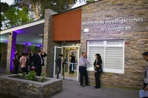 Inauguraron refacciones y ampliaciones en el Instituto de Investigaciones Tecnológicas