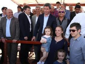 Las autoridades provinciales, nacionales y municipales entregaron llaves de viviendas