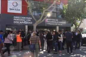 La nueva sede de la Dirección de Personas con Discapacidad ubicada en calle Rivadavia entre España y Salta
