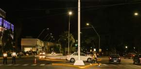Nueva iluminación LED en Av. San Martín
