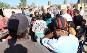 Trasladaron familias de la Villa Santa Ana de Pocito al Barrio Valle Grande en Rawson