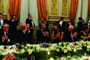 Comida de bienvenida del Foro Iberoamérica