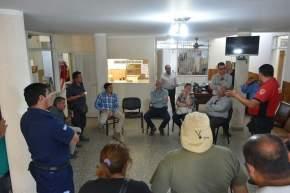 Bomberos, Defensa Civil, Secretaría de Medio Ambiente, el Municipio, participan en contrarrestar los focos de fuego