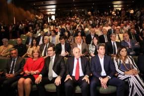 El gobernador Sergio Uñac y el vicegobernador Marcelo Lima participaron del acto