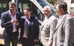 Entregaron dos movilidades 0 Km al Ministerio de Educación
