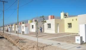 Barrio Santa Bárbara de Mogna, en Pocito