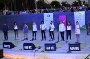 Espectáculo musical en el escenario del Anfiteatro El Globito